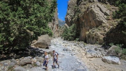 Hiking in the White Mountains of Crete