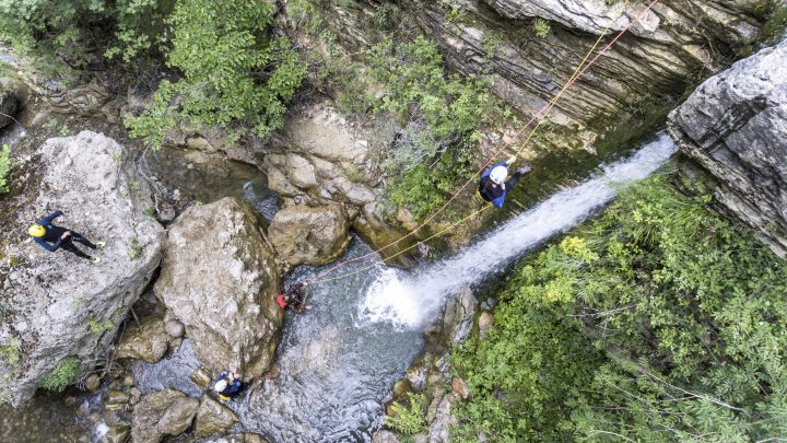 Advanced Canyoning Rogovos, Papingo
