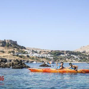Sea Kayak Rhodes – Discover Lindos – Full Day 9