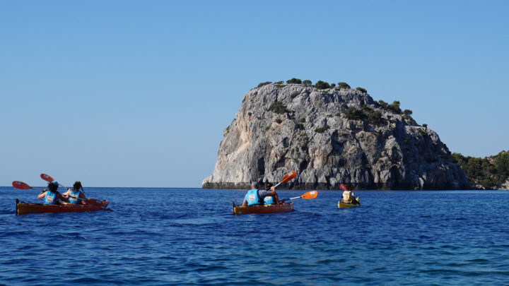 Sea Kayaking Tour - The Pirates Route