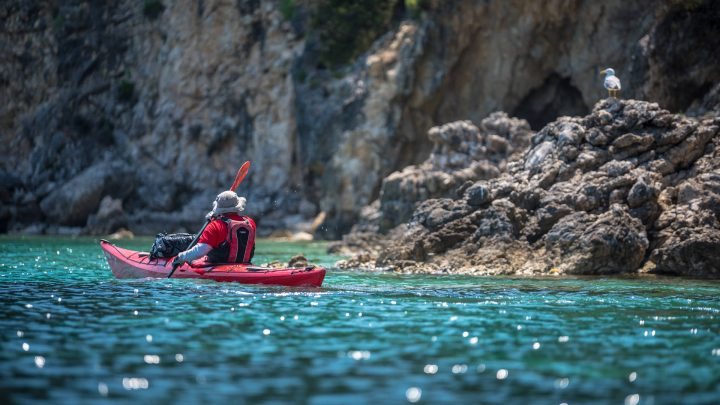 3-Day Ionian Sea Kayak Tour