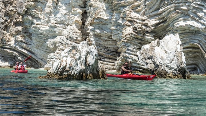 8 Days Sea Kayak Tour