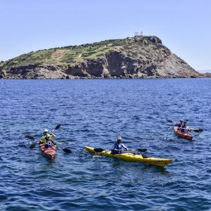 Sea Kayak Cape Sounion 16 May