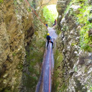 Canyoning Τζουμέρκα Παπαπήδημα 2