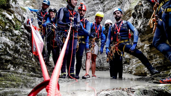Canyoning Τζουμέρκα Παπαπήδημα