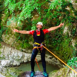 Canyoning Τζουμέρκα Παπαπήδημα 1