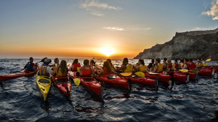Sunset Sea Kayak & Snorkel with Dinner