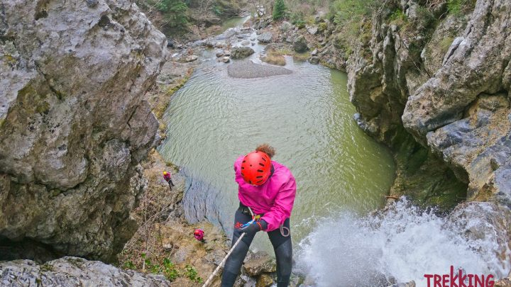 Canyoning Καταρράκτες του Δρυμώνα