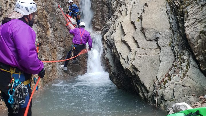Canyoning Χαλικόρεμα