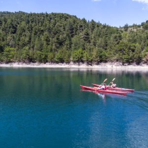 Kayak Lake Tsivlou 12