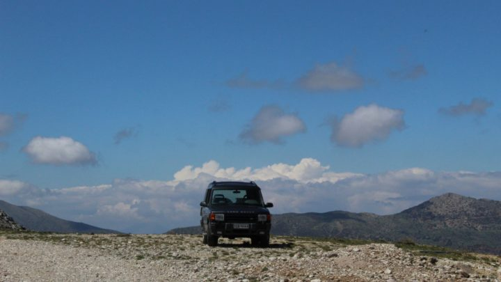 Off-Road Tour in Mt. Chelmos