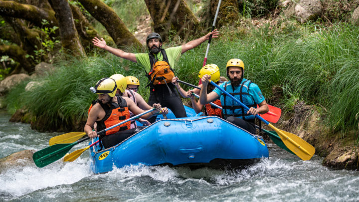Master Class in Rafting!